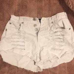 MINK PINK SLASHER SHORTS